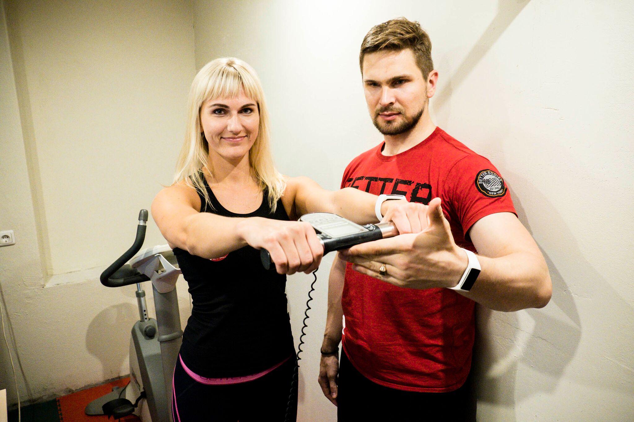 Rasva- ja lihasprotsendi mõõtmine kehas Reval Spordis